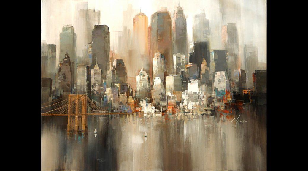 Toile contemporaine de New York